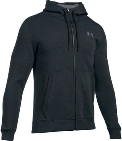 Under Armour Threadborne FZ Hoodie Anthracite Graphite L