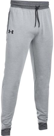 Under Armour moške dolge športne hlače Threadborne Stocked Jogger, sive, XL