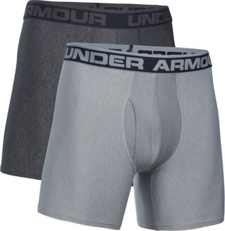 "Under Armour moške spodnjice O Series 6"" Boxerjock, sive, 2 kosa, XL"
