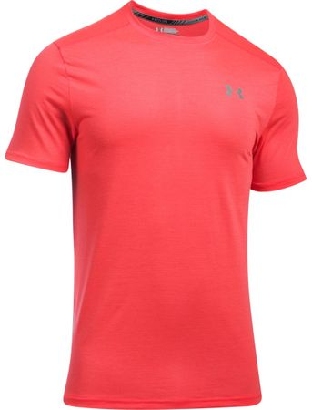 Under Armour Threadborne Streaker SS Marathon Red Reflective L