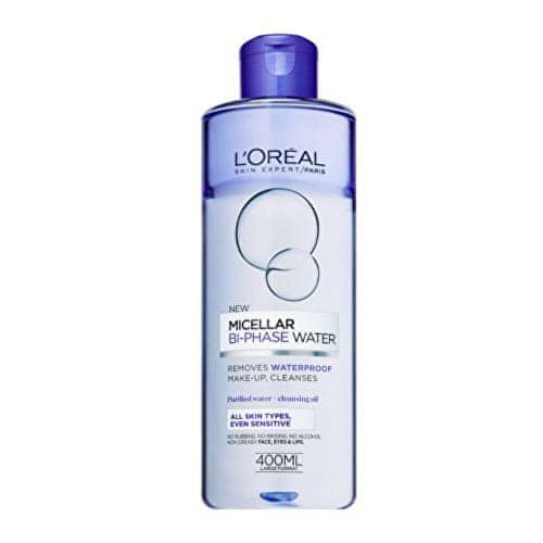 L'Oréal Dvoufázová micelární voda pro všechny typy pleti včetně citlivé Skin Expert (Micellar Bi-Phase Water