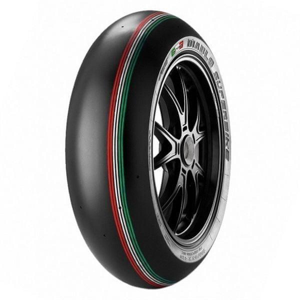 Pirelli 120/70 R 17 NHS TL Diablo Superbike SC1 zadní