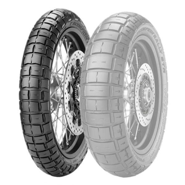 Pirelli 120/70 R 19 M/C 60V M+S TL SCORPION RALLY STR