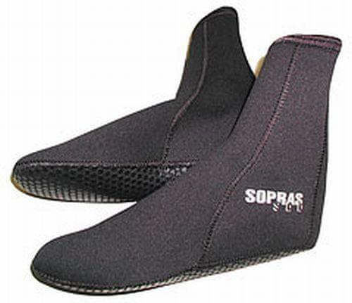 SOPRASSUB Ponožky neoprenové 3mm, Sopras sub, S