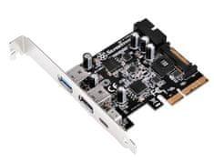 Silverstone razširitvena kartica PCI-E USB 3.0/3.1 Type C