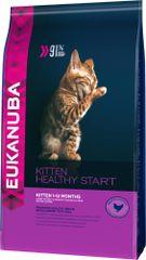Eukanuba Cat Kitten Chicken Macskaeledel kölyök és vemhes macskáknak, 2 kg