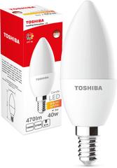 TOSHIBA Candle 5W 470lm 2700K 80Ra ND E14