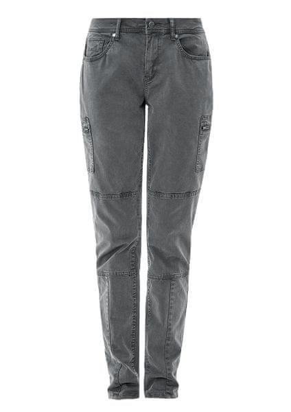 s.Oliver dámské kalhoty 34/32 šedá