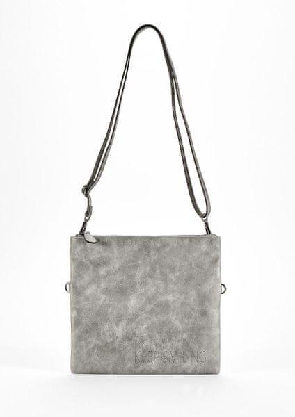 s.Oliver stříbrná kabelka