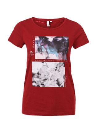 s.Oliver női póló XS piros - További információ a termékről  c82ceba823