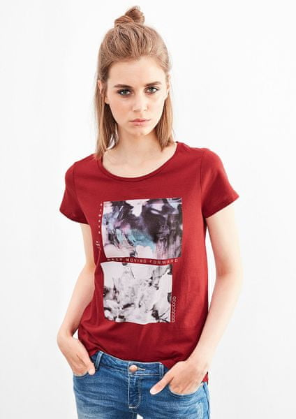 s.Oliver dámské tričko S červená