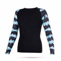 Mystic ženska kopalna majica Lycra Dazzled LS 690 Mint