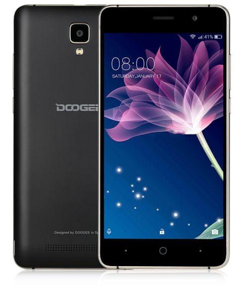 Doogee X10, černý