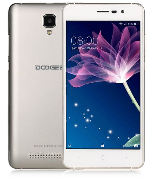 Doogee X10, zlatý