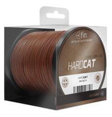 FIN Splétaná šňůra Hard Cat 0,80mm 78,2kg Červenohnědá