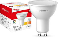 TOSHIBA żarówka PAR16 4,5W 345lm 3000K 80Ra ND 120D GU10