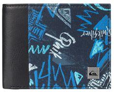 Quiksilver Peněženka Freshness Darkdenimthunderbolt EQYAA03561-BRQ8