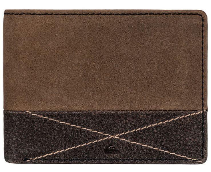 Quiksilver Kožená peněženka Newclassicplus Bone Brown EQYAA03516-CMT0
