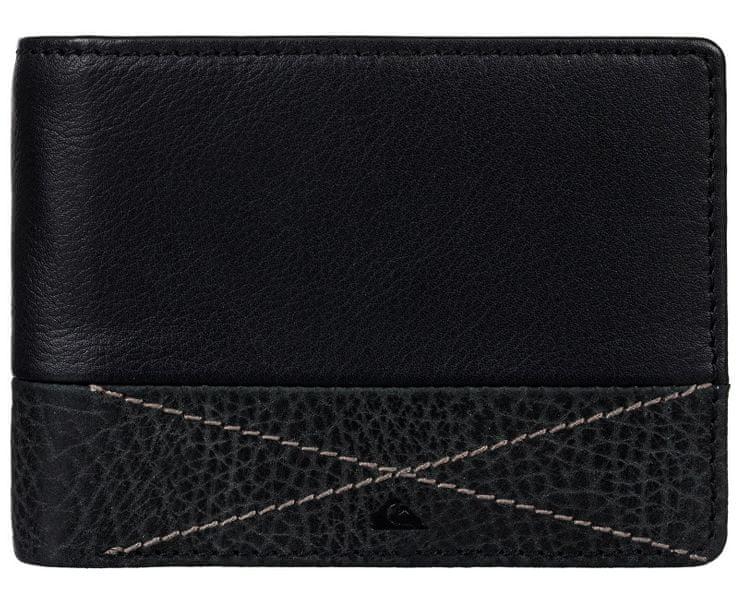 Quiksilver Kožená peněženka Newclassicplus Black EQYAA03516-KVJ0