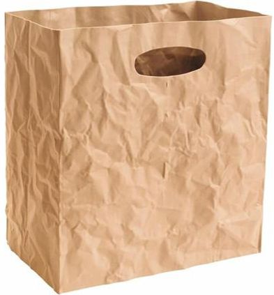 Surplus systems Plastový úložný box 23x14x24 cm, hnědá