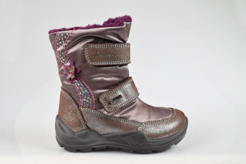 Primigi dívčí zimní obuv 30 hnědá