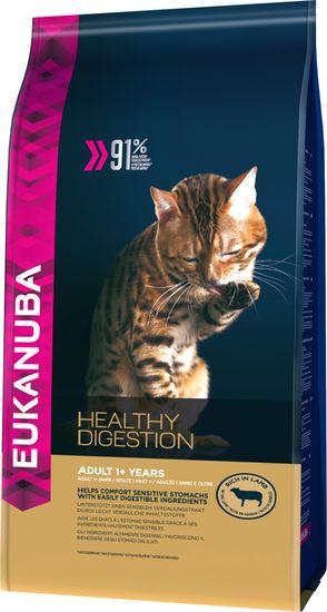 Eukanuba Cat Adult Lamb Macskaeledel felnőtt macskáknak, 4 kg