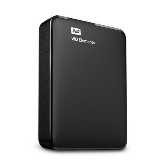 Western Digital zunanji trdi disk WD Elements Portable 2 TB, USB 3.0 (WDBU6Y0020BBK-WESN)
