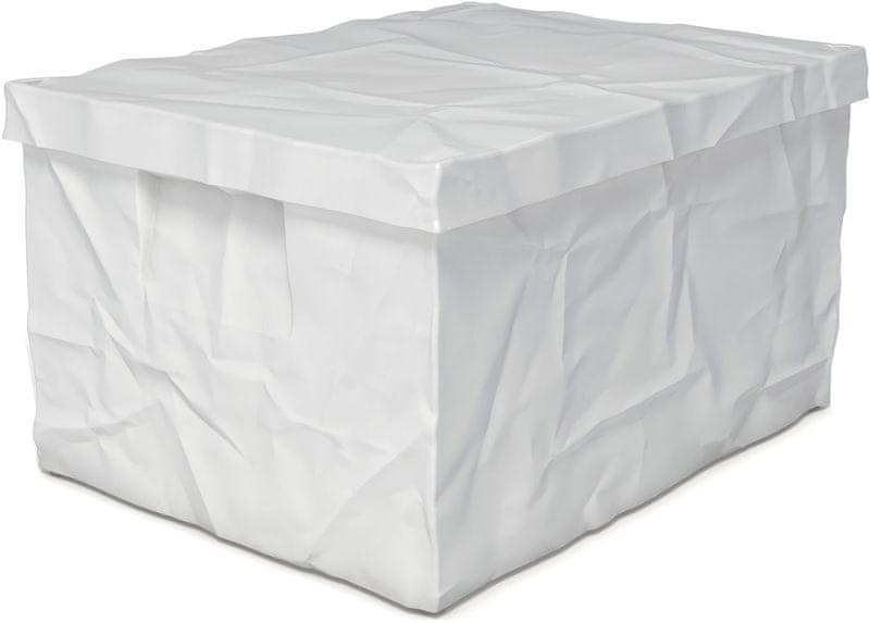 Surplus systems Plastový box s víkem 30x40x22 cm bílá