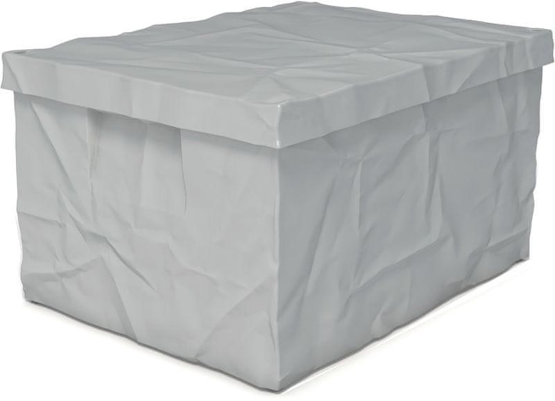 Surplus systems Plastový box s víkem 30x40x22 cm šedá