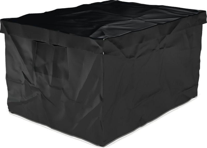 Surplus systems Plastový box s víkem 30x40x22 cm černá