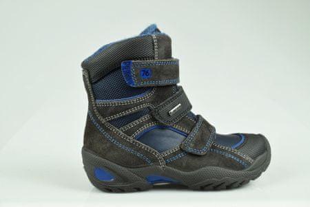 1c504451640 Primigi chlapecká zimní obuv 38 černá modrá
