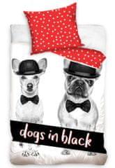 Carbotex Povlečení Dogs in Black