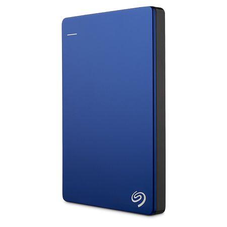 Seagate 2,5 zunanji trdi disk Backup Plus Portable 1 TB, USB 3.0, moder (STDR1000202)