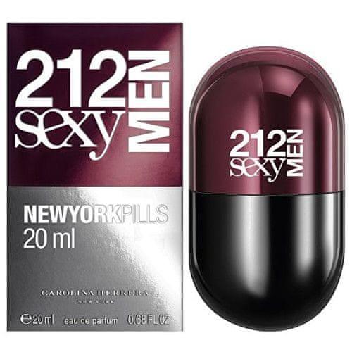 Carolina Herrera 212 Sexy Pills Men - EDT 20 ml