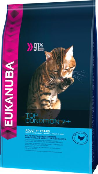 Eukanuba Cat Senior Chicken 4 Kg