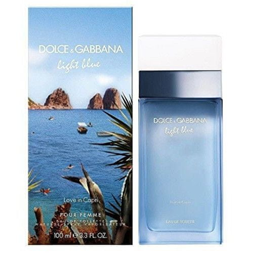 Dolce & Gabbana Light Blue Love In Capri Woman EDT 50 ml