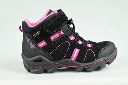Primigi dívčí outdoorová obuv 36 čierna