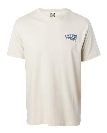 Rip Curl pánske tričko Sun Drenched M smotanová