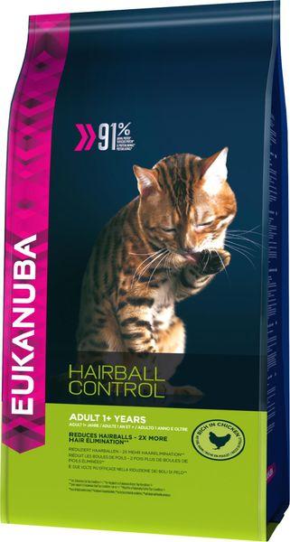 Eukanuba Cat Adult Hairball Control Chicken 4 Kg