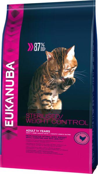 Eukanuba Cat Adult Weight Control Chicken 3 Kg