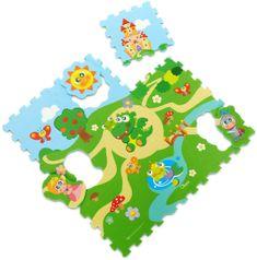 Chicco Puzzle piankowe Castle 30 x 30 cm, 9 szt.
