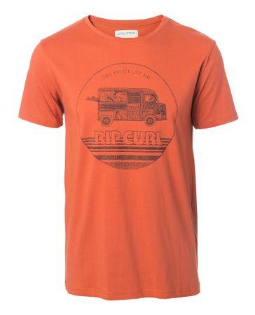 Rip Curl pánské tričko Van Surf XL oranžová