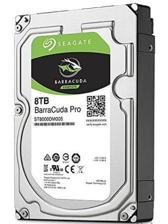 Seagate trdi disk BarraCuda Pro 3.5, 8TB, Sata 3, 7200 obratov