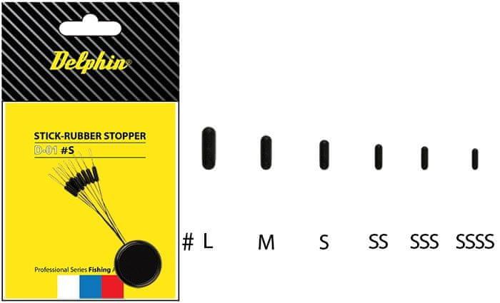 Delphin Stopper Rubber Stick SSSS