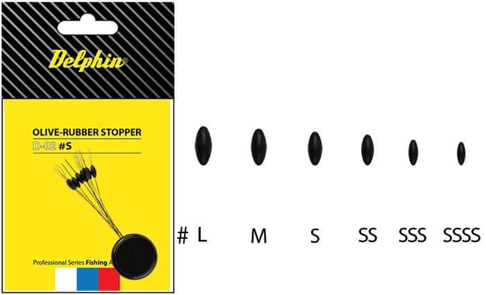 Delphin Stopper Rubber Olive SS