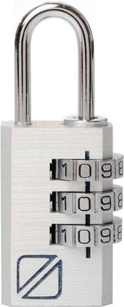 REAbags Bezpečnostní kódový zámek na zavazadla stříbrný