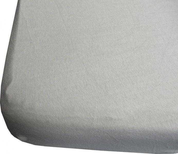 Jerry Fabrics prostěradlo 180x200 cm šedá