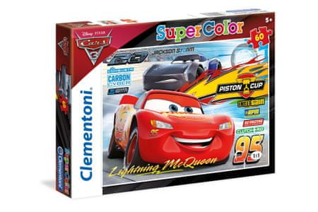 Clementoni sestavljanka Cars 3, 60-delna (26973)