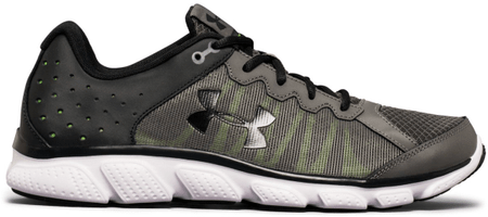 Under Armour Micro G Assert 6 Graphite Quirky Lime Anthracite 43