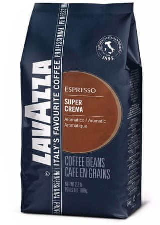 Lavazza Super Crema kava v zrnu, 1 kg